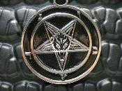 BAPHOMET pentagram (black metal) ...008