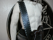 METALLICA ...PLAIN LEATHER GUITAR STRAP   (MDLS0198)
