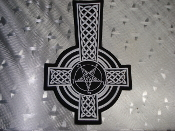 CELTIC CROSS ...(black metal)    245*
