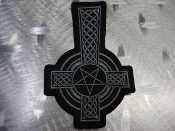 CELTIC CROSS ,,(black metal)    1295*