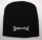 IMMORTAL ...(black metal) Beanie Hat Cap band Logo  007