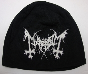 MAYHEM ...(black metal)  Beanie Hat Cap band Logo Official   023