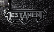 TESTAMENT ...(thrash metal) Official Keychain ( LOGO ) 03