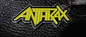 ANTHRAX ...(thrash metal) Official Keychain ( LOGO ) 04