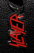 SLAYER ...(thrash metal) Official Keychain ( LOGO ) 05
