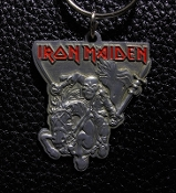 IRON MAIDEN ...(nwobhm) Official Keychain (The Trooper) 16