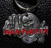 IRON MAIDEN ...(nwobhm) Official Keychain (Eddie) 17