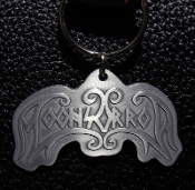 MOONSORROW ...(viking black) Official Keychain (Logo) 20
