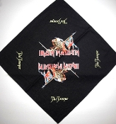 IRON MAIDEN ...(nwobhm) Official Screen printed Bandana 05