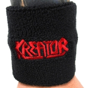 KREATOR ...(thrash metal) Official Embroidered Wristband 02