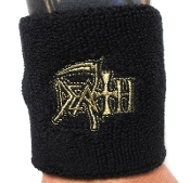 DEATH ...(death metal) Official Embroidered Wristband 07