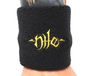 NILE ...(technical death) Official Embroidered Wristband 10