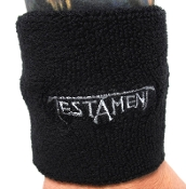 TESTAMENT ...(thrash metal) Official Embroidered Wristband 16