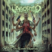 ABORTED ...(Belgium) - The Necrotic Manifesto