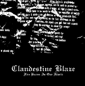 CLANDESTINE BLAZE  (Finland)  Fire Burns In Our Hearts  CD  07
