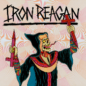 IRON REAGAN (USA) - Crossover Ministry (LP) Clear w/ Splatter
