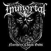 IMMORTAL (NOR) - Northern Chaos Gods (LP) Clear w/ Black & White