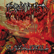 EXHUMED (USA) - Slaughtercult (2LP) Grey w/ Oxblood Splatter Saw