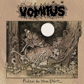 VOMITUS (USA) - Pulse In The Dirt (Brown & White 2LP)