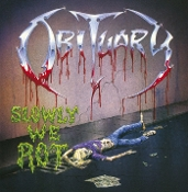 OBITUARY (USA) - Slowly We Rot (Limited Edition Red LP)