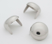 VALEFOR ...1/2 inch 13mm silver dome studs- Bag of 100   07