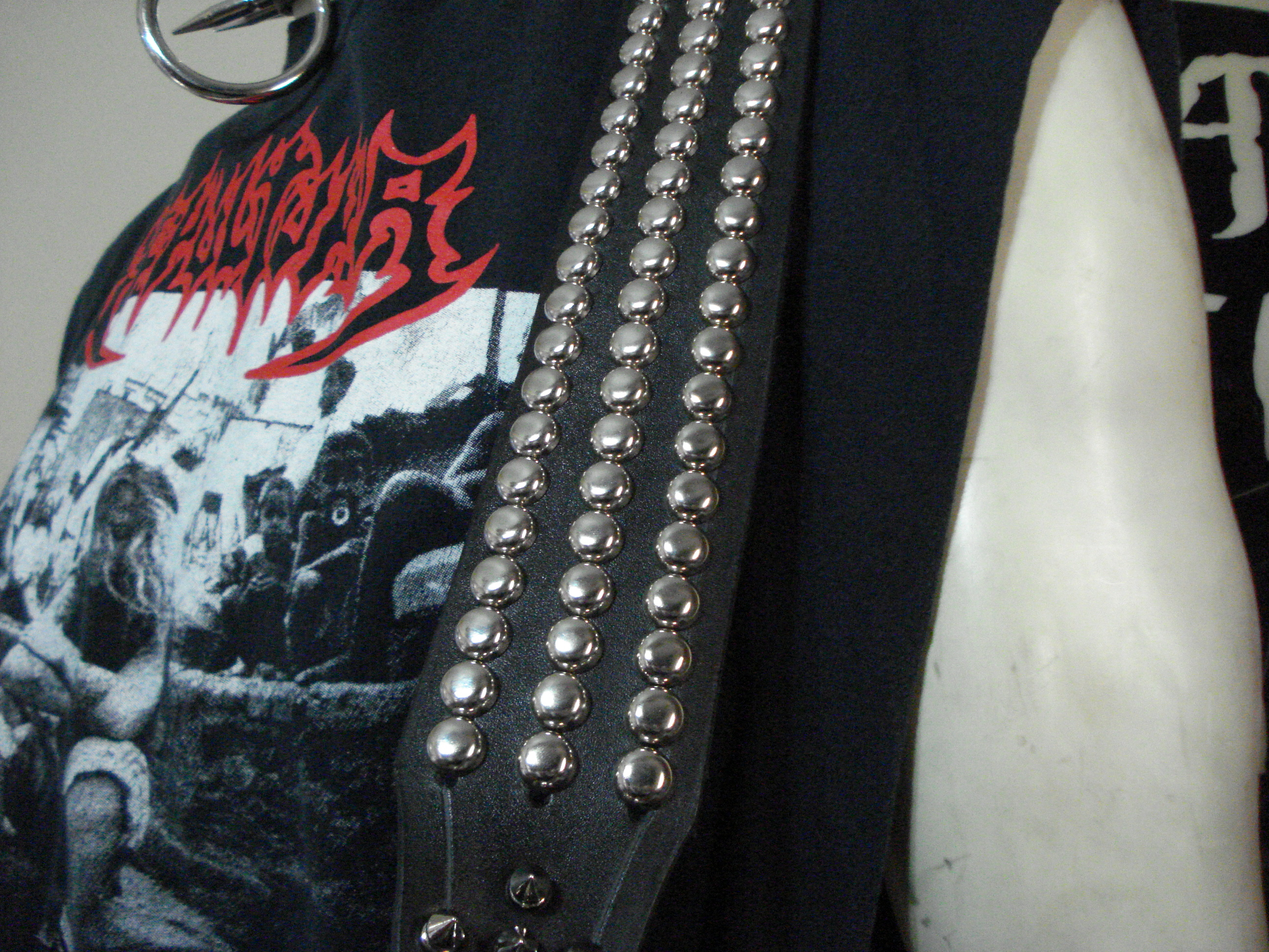 Danzig Studded Leather Guitar Strap Mdls0054